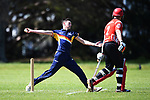 NELSON, NEW ZEALAND - OCTOBER 12: Premiership Cricket - Stoke/Nayland v Marlborough Falcons. Saturday 13 October 2019 in Stoke, New Zealand. (Photo by Chris Symes/Shuttersport Limited)