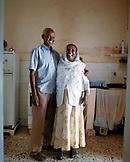 ERITREA, Asmara, Tecklzghi and Aebeba Berhe in their home in Asmara