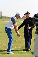 Abu Dhabi HSBC 2013 Henrick Stenson & Pete Cowan Swing