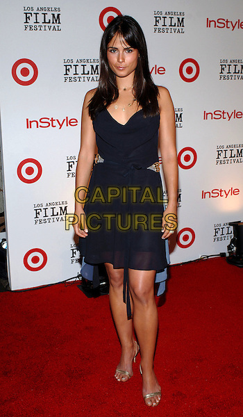 JORDANA BREWSTER.2005 Los Angeles Film Festival - Spirit of Independence Awards, Westwood, CA.June 25th, 2005.Photo credit: Jacqui Wong/AdMedia.full length black dress.www.capitalpictures.com.sales@capitalpictures.com.© Capital Pictures.