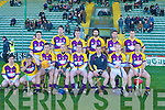 The Wexford hurling team who played against Kerry at Austin Stack Park on Sunday.