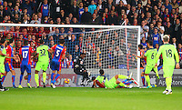 Liverpool score their 2nd goal during the EPL - Premier League match between Crystal Palace and Liverpool at Selhurst Park, London, England on 29 October 2016. Photo by Steve McCarthy.