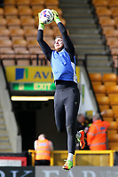 Blackburn Rovers' Jason Steele during the pre-match warm-up <br /> <br /> Photographer David Shipman/CameraSport<br /> <br /> The EFL Sky Bet Championship - Norwich City v Blackburn Rovers - Saturday 11th March 2017 - Carrow Road - Norwich<br /> <br /> World Copyright &copy; 2017 CameraSport. All rights reserved. 43 Linden Ave. Countesthorpe. Leicester. England. LE8 5PG - Tel: +44 (0) 116 277 4147 - admin@camerasport.com - www.camerasport.com