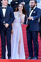 www.acepixs.com<br /> <br /> May 19 2017, Cannes<br /> <br /> (L-R) Paul Dano, Lily Collins and Jake Gyllenhaal arriving at the 'Okja' screening during the 70th annual Cannes Film Festival at Palais des Festivals on May 19, 2017 in Cannes, France. <br /> <br /> <br /> By Line: Famous/ACE Pictures<br /> <br /> <br /> ACE Pictures Inc<br /> Tel: 6467670430<br /> Email: info@acepixs.com<br /> www.acepixs.com
