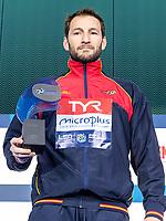 1 ESP LOPEZ PINEDO Daniel Spain Best Goal Keeper<br /> Budapest 26/01/2020 Duna Arena <br /> Men Medal Ceremony<br /> XXXIV LEN European Water Polo Championships 2020<br /> Photo  ©Giorgio Scala / Deepbluemedia / Insidefoto