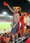 19 June 2006: Spain fans celebrate after the game. Spain played Tunisia at the Gottlieb-Daimler Stadion in Stuttgart, Germany in match 31, a Group H first round game, of the 2006 FIFA World Cup.