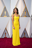 Eiza Gonzalez arrives on the red carpet of The 90th Oscars&reg; at the Dolby&reg; Theatre in Hollywood, CA on Sunday, March 4, 2018.<br /> <br /> *Editorial Use Only*<br /> CAP/PLF/AMPAS<br /> Supplied by Capital Pictures