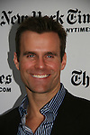 Cameron Mathison - All My Children at 40 celebrate on January 10, 2010 at the New York Times Arts & Leisure Weekend at the TimesCenter Stage, New York City, New York. (Photo by Sue Coflin/Max Photos)