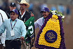 DEL MAR, CA - NOVEMBER 04: Gun Runner connections celebrate after winning the Breeders' Cup Classic race on Day 2 of the 2017 Breeders' Cup World Championships at Del Mar Racing Club on November 4, 2017 in Del Mar, California. (Photo by John Durr/Eclipse Sportswire/Breeders Cup)