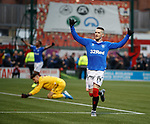 24.11.2019: Hamilton v Rangers: Ryan Kent celebrates as he scores his second and Rangers third goal of the match