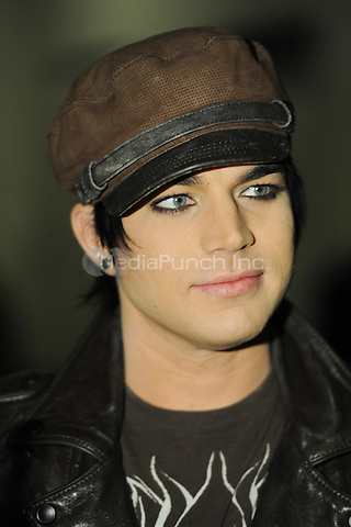 SUNRISE, FL - DECEMBER 12 : Adam Lambert backstage at the Y-100 Jingle ball held at the Bank Atlantic center on December 12, 2009 in Fort Lauderdale Florida. Credit: mpi04/MediaPunch