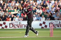 Tom Banton hits 4 runs for  Somerset during Essex Eagles vs Somerset, Vitality Blast T20 Cricket at The Cloudfm County Ground on 7th August 2019