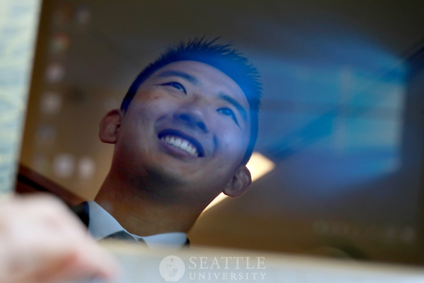 July 5th 2017 - Alan Yu, '17 Computer Science spent the past several summers in software related internships which help him land a job at Microsoft upon graduation. Yu is from Bellevue, Wash.