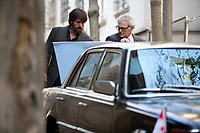 Argo (2012)<br /> Ben Affleck &amp; Victor Garber<br /> *Filmstill - Editorial Use Only*<br /> CAP/MFS<br /> Image supplied by Capital Pictures
