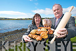 Mairead and Brian de Staic from the Dingle Rotary Club who are holding a fundraising cake sale is on Sunday 27th March in aid of Bru? Columbanus in Cork.