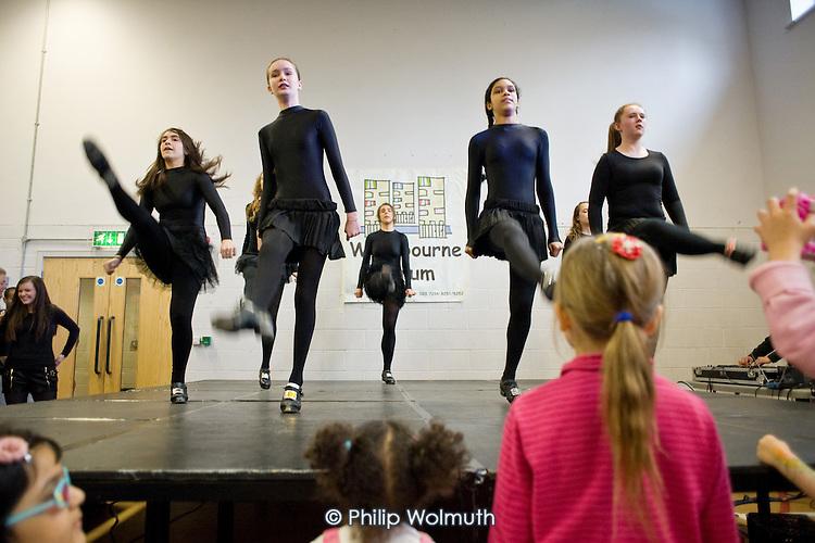 Irish dance group, Westbourne Forum International Day, Stowe Centre, Harrow Road, North Paddington.