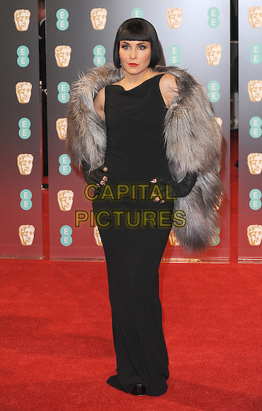 LONDON, ENGLAND - FEBRUARY 12: Noomi Rapace attends the 70th EE British Academy Film Awards (BAFTA) at Royal Albert Hall on February 12, 2017 in London, England.<br /> CAP/BEL<br /> &copy;BEL/Capital Pictures