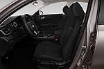 Front seat view of 2018 KIA Optima LX 4 Door Sedan Front Seat  car photos