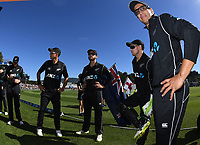 Ross Taylor.<br /> New Zealand Black Caps v England, ODI series, University Oval in Dunedin, New Zealand. Wednesday 7 March 2018. &copy; Copyright Photo: Andrew Cornaga / www.Photosport.nz