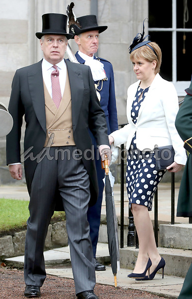 04 July 2017 - Edinburgh, UK - The Annual garden party at the Palace of Holyroodhouse. Photo Credit: Alpha Press/AdMedia