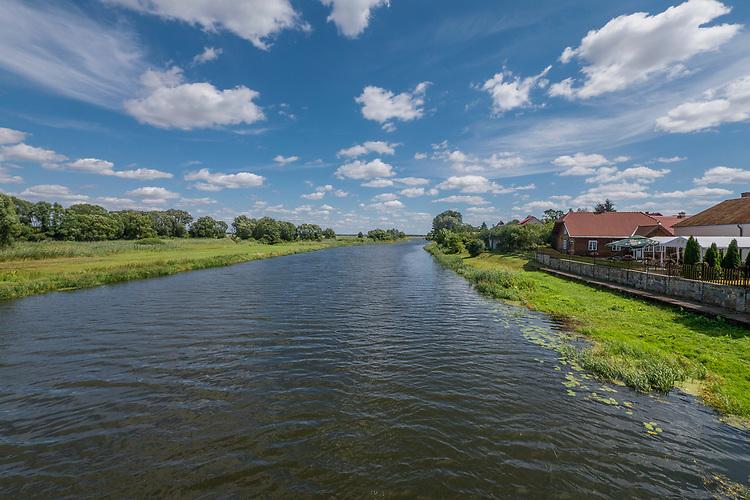 Rzeka Narew w Tykocinie.