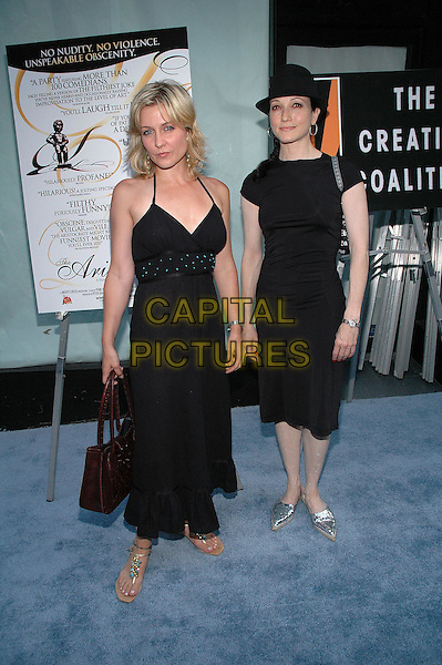 """26 July 2005 - New York, New York - Amy Carlson and Bebe Neuwirth arrive at the premiere of their new film, """"The Aristocrats"""", at The Directors Guild Theater in Manhattan.  .Photo Credit: Patti Ouderkirk/AdMedia"""