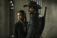 WESTWORLD (season 2)<br /> THANDIE NEWTON, RODRIGO SANTORO<br /> *Filmstill - Editorial Use Only*<br /> CAP/FB<br /> Image supplied by Capital Pictures