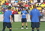 08 September 2007: Kleber. The Brazil Men's National Team practiced at Toyota Park in Bridgeview, Illinois.