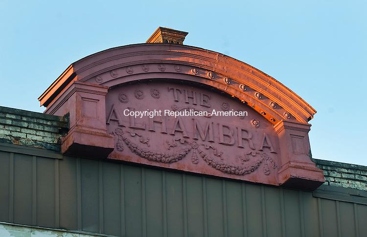 WATERBURY, CT--- -010516JS15-- La Iglesia De Dios located in the Alhambra Theater building at 766 N Main Street in Waterbury.<br /> Jim Shannon Republican-American