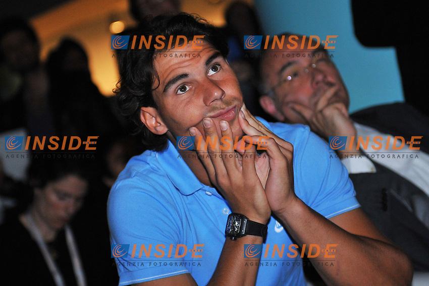 Rafael Nadal (Esp) au tirage au sort .Parigi 25/5/2013 Roland Garros .Tennis Grande Slam .Foto Panoramic / Insidefoto .ITALY ONLY