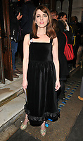 Ophelia Lovibond at the &quot;Quiz&quot; press night, Noel Coward Theatre, St Martin's Lane, London, England, UK, on Tuesday 10 April 2018.<br /> CAP/CAN<br /> &copy;CAN/Capital Pictures