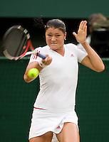 29-6-09, England, London, Wimbledon, Dinara Safina