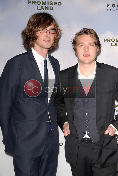 """Kenneth Pattengale, Joey Ryan<br /> at the """"Promised Land"""" Los Angeles Premiere, DGA, Los Angeles, CA 12-06-12<br /> David Edwards/DailyCeleb.com 818-249-4998"""