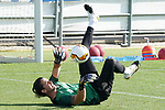 Getafe's Leandro Chichizola during training session. August 3,2020.(ALTERPHOTOS/Acero)