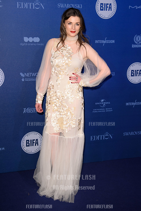 Aisling Bea at the British Independent Film Awards 2017 at Old Billingsgate, London, UK. <br /> 10 December  2017<br /> Picture: Steve Vas/Featureflash/SilverHub 0208 004 5359 sales@silverhubmedia.com