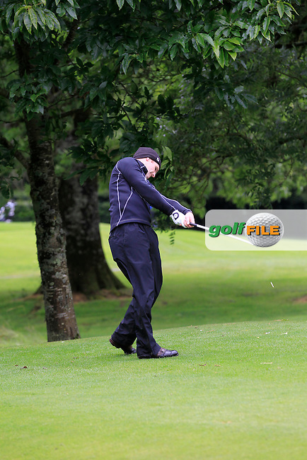 Mark Shanahan (Castlemartyr) on the 3rd tee during round 1 of The Mullingar Scratch Cup in Mullingar Golf Club on Sunday 3rd August 2014.<br /> Picture:  Thos Caffrey / www.golffile.ie