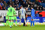 01.12.2018, wirsol Rhein-Neckar-Arena, Sinsheim, GER, 1 FBL, TSG 1899 Hoffenheim vs FC Schalke 04, <br /> <br /> DFL REGULATIONS PROHIBIT ANY USE OF PHOTOGRAPHS AS IMAGE SEQUENCES AND/OR QUASI-VIDEO.<br /> <br /> im Bild: Gelbe Karte fuer Ishak Belfodil (TSG Hoffenheim #19)<br /> <br /> Foto © nordphoto / Fabisch