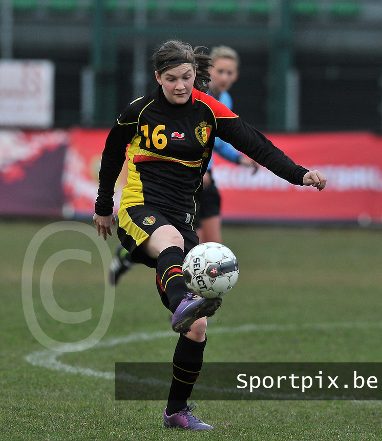 France U19 - Belgium U19 : Elke Van Gorp.foto DAVID CATRY / Nikonpro.be