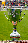 The new Neilus Flynn Cup for the Kerry Senior Hurling championship before the game.