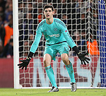 Chelsea's Thibaut Courtois in action<br /> <br /> UEFA Champions League - Chelsea v FC Porto - Stamford Bridge - England - 9th December 2015 - Picture David Klein/Sportimage
