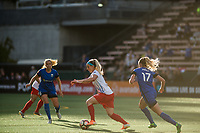 Seattle, WA - Wednesday, June 28, 2017: Julie Johnston Ertz during a regular season National Women's Soccer League (NWSL) match between the Seattle Reign FC and the Chicago Red Stars at Memorial Stadium.