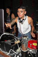 Nicole Albino of Nina Sky attend Inked Magazine release party celebrating August issue, New York. July 17, 2012 © Diego Corredor/MediaPunch Inc. /NortePhoto.com<br /> **CREDITO*OBLIGATORIO** *No*Venta*A*Terceros*.*No*Sale*So*third* ***No*Se*Permite*Hacer Archivo***No*Sale*So*third*©Imagenes*con derechos*de*autor©todos*reservados*