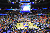 The view from the stands. Syracuse defeated Marquette 55-39 during the NCAA East Regional Final at the Verizon Center in Washington, D.C. on Saturday, March 30, 2013. Alan P. Santos/DC Sports Box