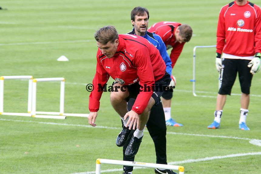 Alex Meier (Eintracht) ist wieder ins Training eingestiegen