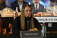 Ellie Scotney during a Press Conference at Glaziers Hall on 14th February 2020