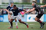 French Pyrenees vs French Development Team during the 2015 GFI HKFC Tens at the Hong Kong Football Club on 26 March 2015 in Hong Kong, China. Photo by Xaume Olleros / Power Sport Images