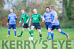 Pierce Brosnan Castleisland in action against Dingle Bay Rovers during their league clash in Castleisland on Sunday morning