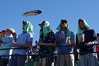 Jeering fans on the 16th hole during the third round of the Waste Management Phoenix Open, TPC Scottsdale, Phoenix, USA. 31/01/2020<br /> Picture: Golffile | Phil INGLIS<br /> <br /> <br /> All photo usage must carry mandatory copyright credit (© Golffile | Phil Inglis)