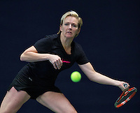 Hilversum, The Netherlands, March 10, 2016,  Tulip Tennis Center, NOVK, Tieske Kroone-Van Duinen<br /> Photo: Tennisimages/Henk Koster