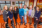 Some of the local participation at the 'Imagining Iveragh' in the Cahersiveen Library on Tuesday pictured here l-r; Susan Baughman, Róisín Galvin, Jene Byrne, Colm Healy, Vincent Hyland, Michael Donnelly & Chloe Lyne.